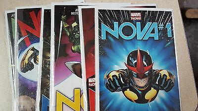 from Avengers Nova Comic lot marvel now 1 2 3 4 5 6 nm bagged boarded