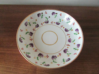 Antique Early Spode Hand Painted Dish c.1800
