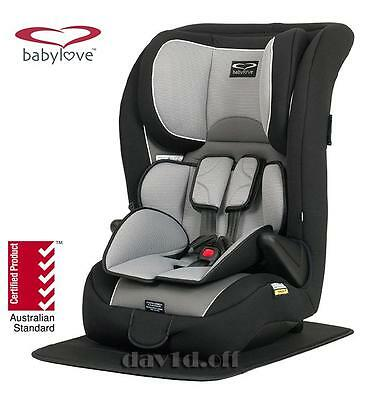 BabyLove Ezy Grow Ep Harnessed Convertible Infant Child Baby Car Seat 6mth - 8yr