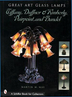 GREAT ART GLASS LAMPS: TIFFANY, DUFFNER & KIMBERLY,  PAIRPOINT and HANDEL