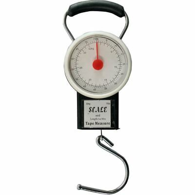 Luggage Suitcase Weigh Scale with Tape Measure