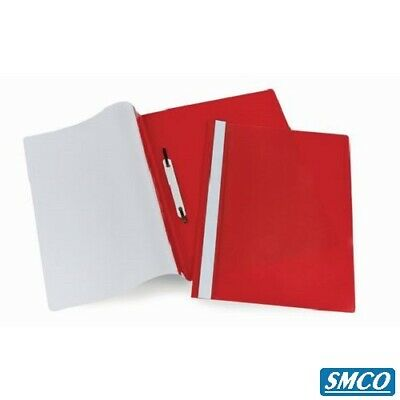 A4 Quality SMCO Project Presentation Document Report Folders 2 Prong RED