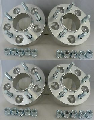 Range Rover Vogue L322 2002 On 30mm Hubcentric Aluminium Wheel Spacers 2 Pairs