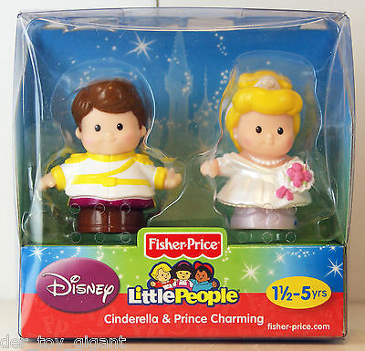 Fisher-Price- Little People - 2-Pack - Cinderella & Prince Charming