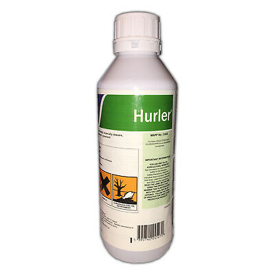 1L Hurler Paddock Weed Killer Safe To New Grass Covers Upto 13000M2