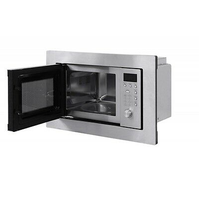 Russell Hobbs 20 Litre Integrated Silver Microwave Rhbm2001