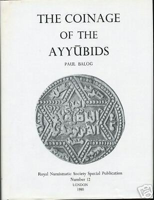 THE COINAGE OF THE AYYUBIDS - best for books on ebay