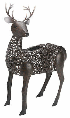 Smart Solar Stag Garden Sculpture (Solar) Light Led Silhouette by Smart Garden