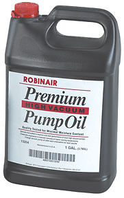 Premium High Vacuum Pump Oil, Gallon Robinair 13204 ROB LP