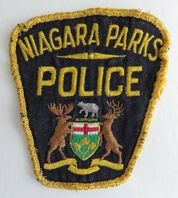 Niagara Parks Police Embroidered Patch     (Inv3464)