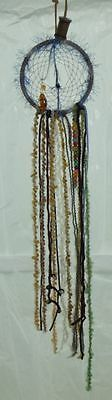 28 Inch Long Dream Catcher Hand Crafted With Wooden Bead Work