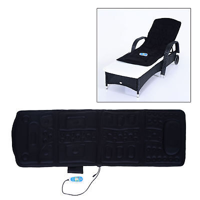 8 Modes Electric Massage Mat Pad Health Wellness Heated Foldable Function