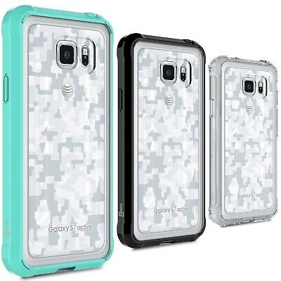 CoverON for Samsung Galaxy S7 Active Case Slim Hybrid Hard Phone Clear Cover