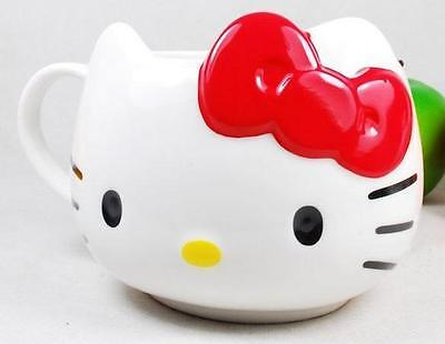 Red lovely  Ceramic Mug  gargle cup milk Cup Tumbler Handle NEW