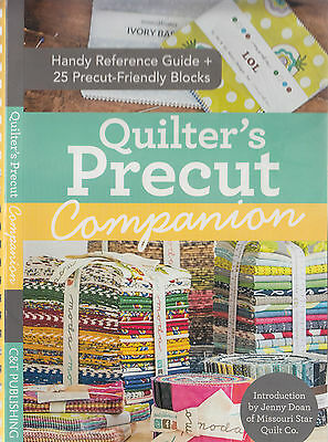 Quilter's Precut Companion - reference guide & block patterns