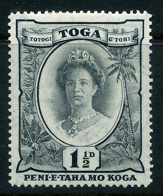 TONGA;  1920 early classic issue Mint hinged  1.5d. value
