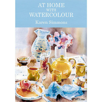 DVD : At Home With Watercolour: Karen Simmons