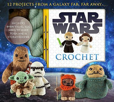 Star Wars Crochet Your Favorite Character w/ Yoda & Stormtrooper Kit READ A273