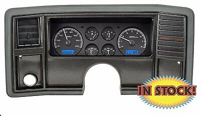 Dakota Dightal 1978-88 Chevy Monte Carlo Gauge Kit Black / Blue VHX-78C-MC-K-B
