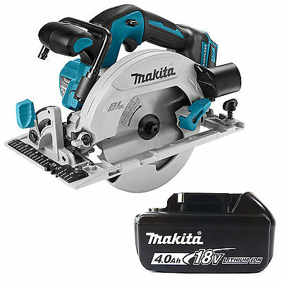 Makita 18V Lxt Dhs680Z Circular Saw & Bl1840 Battery Fuel Cell Indicator