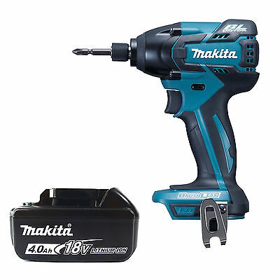 Makita 18V Lxt Dtd129Z Impact Driver & Bl1840 Battery Fuel Cell Indicator