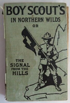 1913 Boy Scouts In Northern Wilds Book - With Damage   (Inv2713)