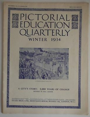 1934 Pictorial Quarterly - A City's Story: 2,000 Years Of Change In Pictures