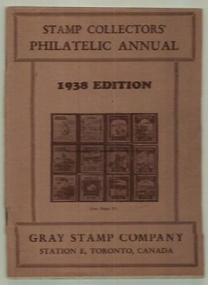 1938 Gray Philatelic Stamp Annual Coronation Edition