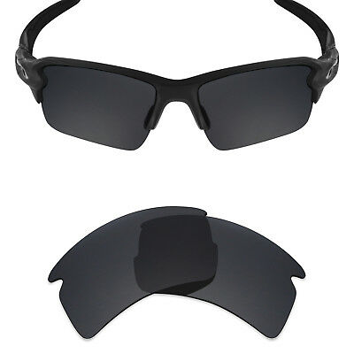 43a930d2fed Mryok Polarized Replacement Lens for-Oakley Flak 2.0 XL Sunglasses Stealth  Black