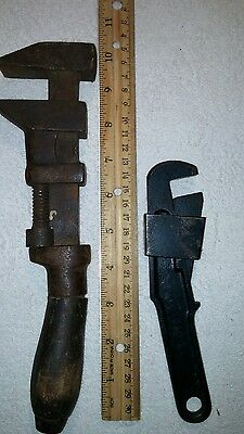 Pair of Vintage Adjustable Wrenches
