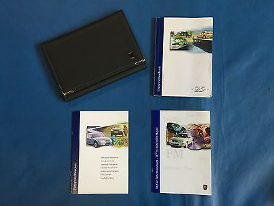 Rover 25 Owners Handbook (With Leather Wallet)