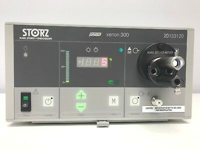 Karl Storz 300 Watt Light Source with Fiber Optic Light Cable