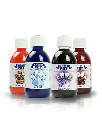 3 X 5L Fresh Pet Pack - Kennel Disinfectant -15L Total Inc Spray Bottle And Toy!