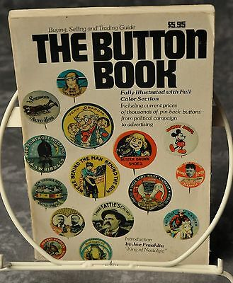 The Button Book 1972 255 Pages Illustrated Price Guide With 1000's of Examples