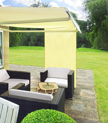 1.6m Rectangle Ivory Outdoor Garden Patio Side Sun Shade Canopy for Awning