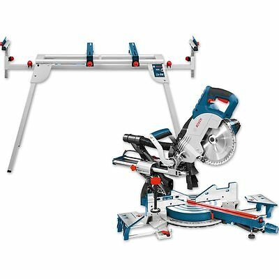 Bosch GCM 8 SJL Mitre Saw and GTA 2600 Stand 110V