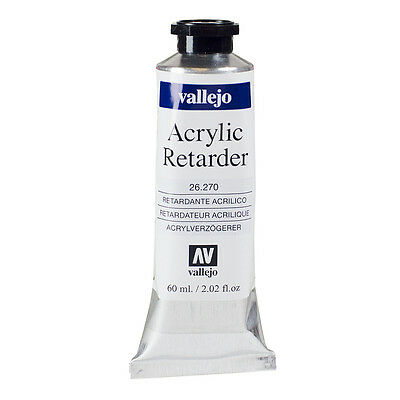Vallejo : Acrylic Retarder Medium : 60ml