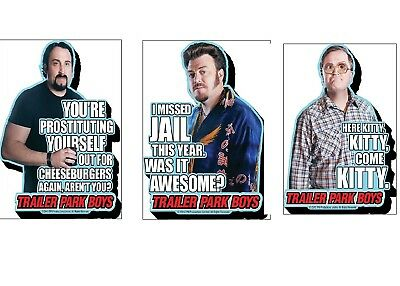 "Trailer Park Boys Magnets (Choose Your Design) 4"" x 3"" Netflix"