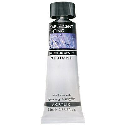 Daler Rowney : Acrylic Medium : Pearlescent Tinting Medium : 75ml