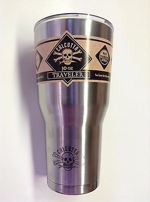 New Authentic Calcutta Fishing Stainless Steel Traveler Cups 30 oz