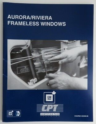 Aurora Riviera Frameless Windows Gm Service Know How Manual   (Inv1850)