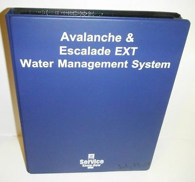 Avalanche & Escalade Water Mngt  Gm Service Know How Instuctional Dvd Video Pack