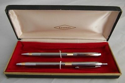 Bankers Pen And Pencil Set In Case