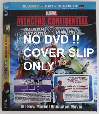 No Discs !! Avengers Con. Blue-Ray Dvd Cover Slip Only - No Discs !!  (Inv1911)