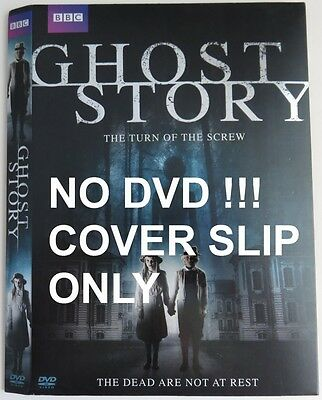 No Discs !! Ghost Story Dvd Cover Slip Only - No Discs !!     (Inv9405)