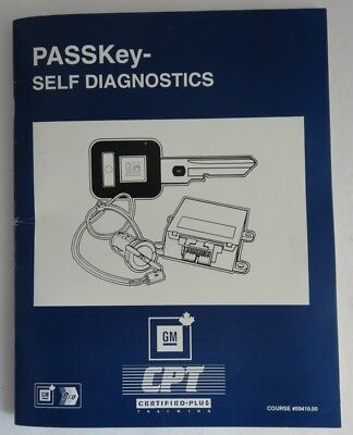Passkey Self Diagnostics Gm Service Know How Manual                (Inv4107)
