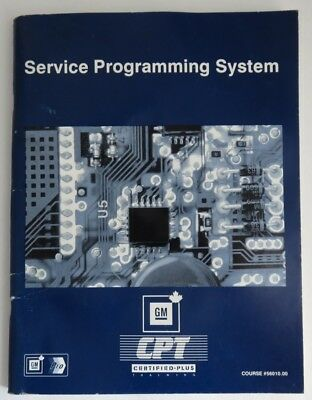 Service Programming System Gm Service Know How Manual            (Inv4122)