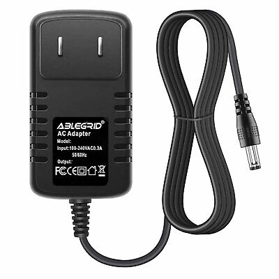 AC Adapter Charger For Yamaha PSR-E233 YPG-525 YPG-625 Keyboard Power Cord Mains