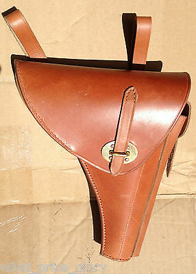 Leather Holster for Dutch KNIL Luger