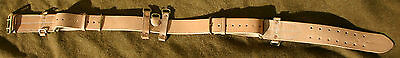 Canadian 1916 Pattern Oliver Leather Equipment Belt